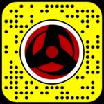 Filtre Snapchat Naruto : Sharingan Kakashi