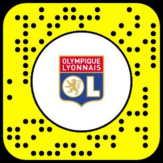 Filtre snapchat olympique lyonnais
