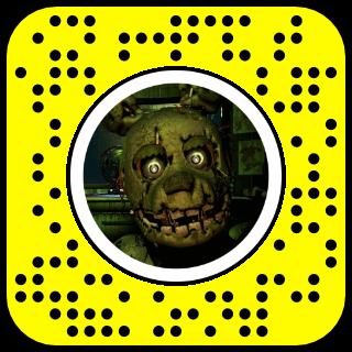 Filtre snapchat Jumpscare