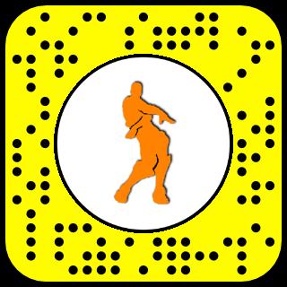 Filtre snapchat danse