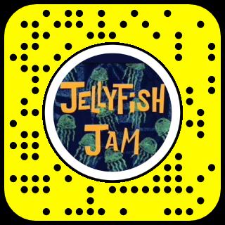 Filtre snap meduses qui dansent