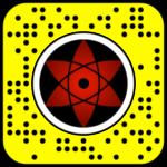 Filtre snap naruto : Sasuke's Sharingan