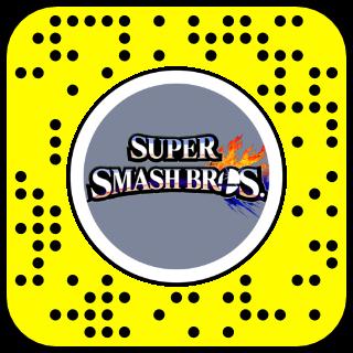 Filtre snapchat super mash bros