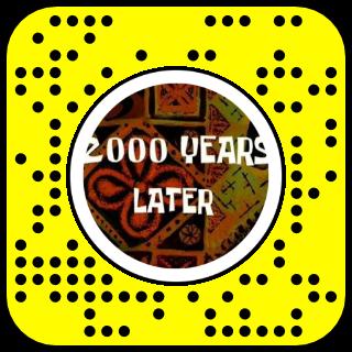 Filtre snapchat 2000 ans plus tard