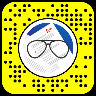 Filtre snapchat bac revision