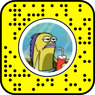 filtre snapchat bob l eponge stupid town