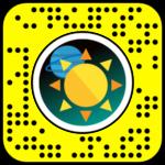 filtre-snapchat couronne planetes