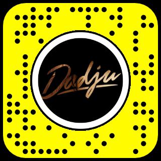 Filtre snapchat Dadju