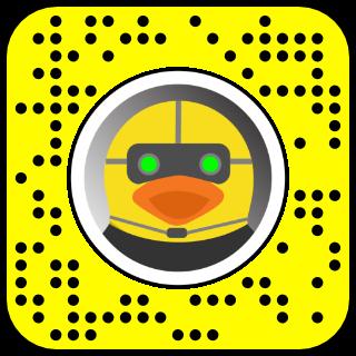 Filtre snapchat detective canard