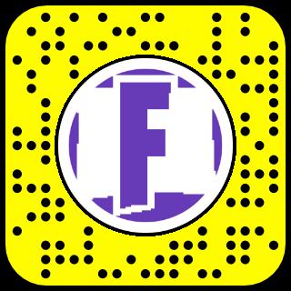Filtre snapchat Fortnite victoire