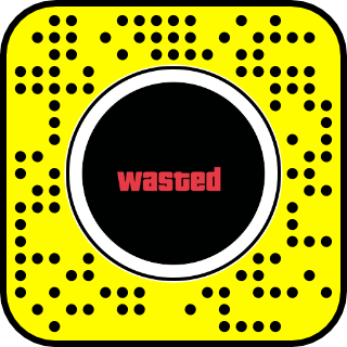 Filtre snapchat gta wasted