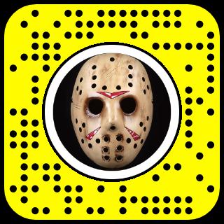 Filtre snapchat Halloween jason