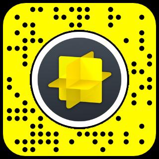 Filtre snapchat effet miroir