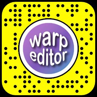 Filtre snapchat realite virtuelle warp