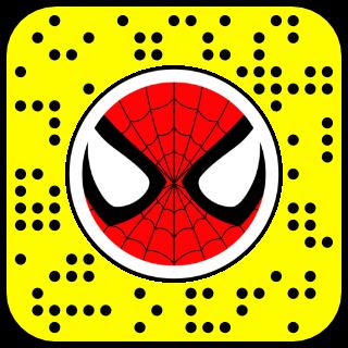 filtre snapchat spider canard