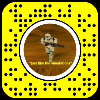 Filtre snapchat star wars