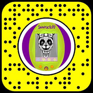 Filtre snapchat Tamagochi