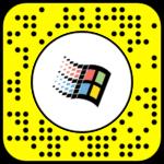 Filtre snapchat Windows 98