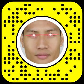Filtre snapchat Xmen Cyclope