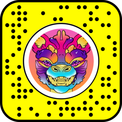 Snapcode Lion chinois