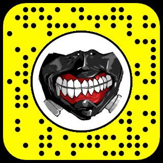 lens snapchat tokyo ghoul