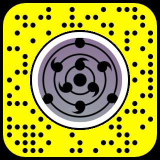 filtre snapchat rinne sharingan